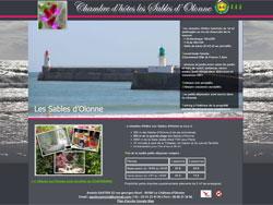 Site web Chambre d'hôtes Les Sables