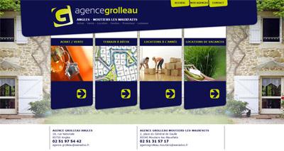 Site web Agences Grolleau