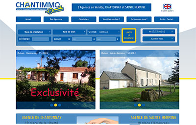 Agence Chantimmo Chantonnya et Sainte Hermine