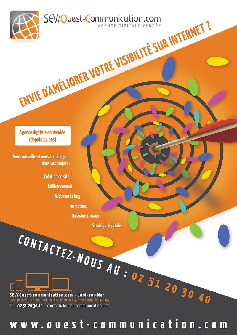 Agence web vendéenne SEV/Ouest-communication