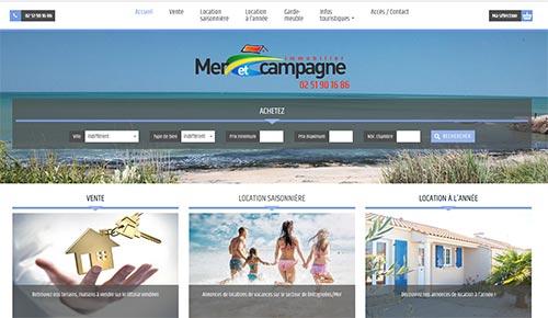 Immobilier mer et campagne Bretignolles sur mer