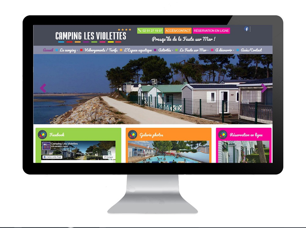 Création site internet La Chaize le Vicomte