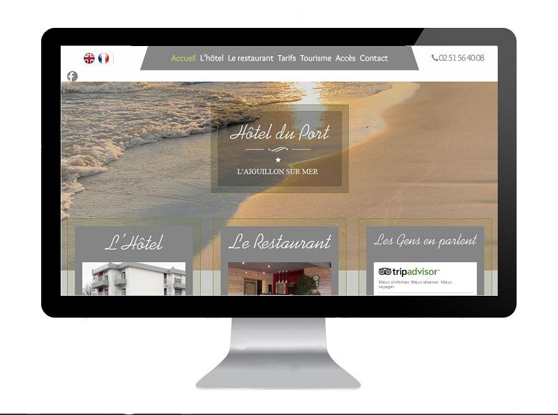 Création site hôtel en Vendée