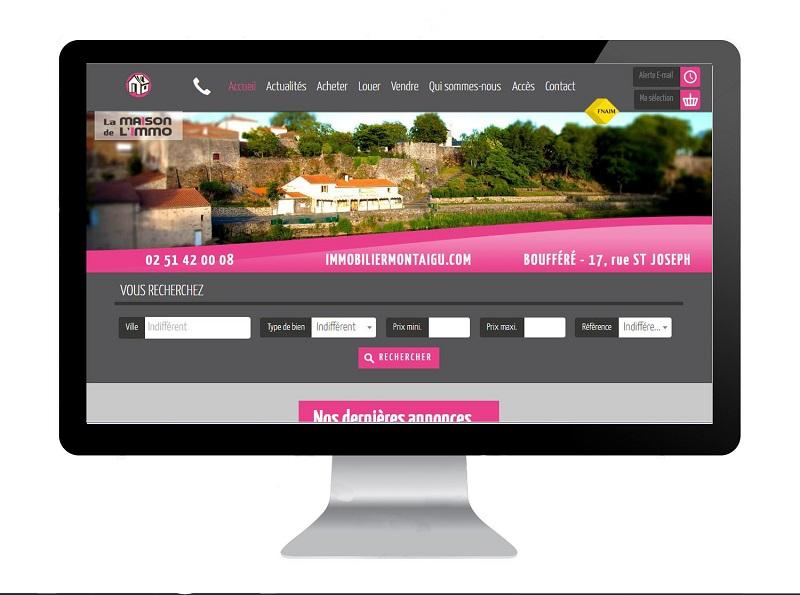 Création site internet Immobilier Vendée