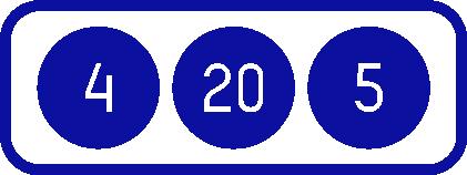 4 20 5